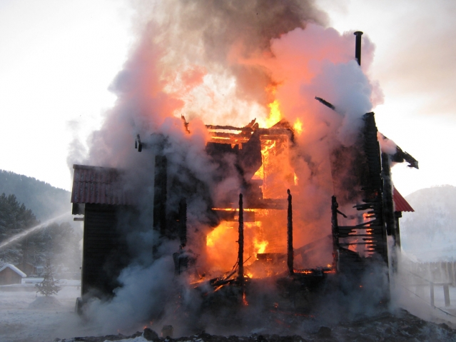 Защити от огня свой дом, свой город, свой край!